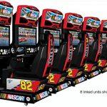 Global Vr NASCAR arcades 8 units linked