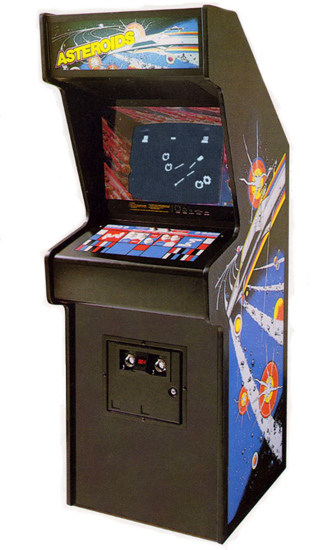 Asteorids - Classic Arcade Game from Video Amusement