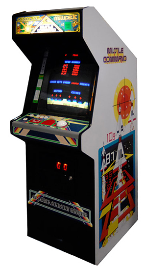 Centipede-Missile Command - Classic Arcade Game for rent from Video Amusement