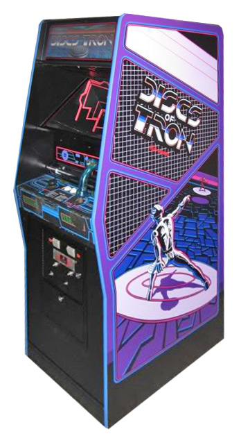 Discs of Tron - Classics Arcade Game from Video Amusement