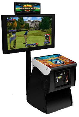 The most popular golfing simulator from Video Amusement.