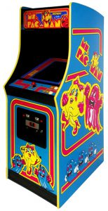 Ms Pac Man - Classic Arcade Game the number 1 game available from Video Amusement