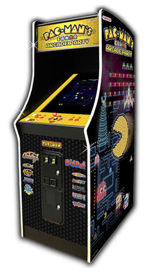 PAC-MAN'S Arcade Party - Classic Arcade Game from Video Amusement for rent
