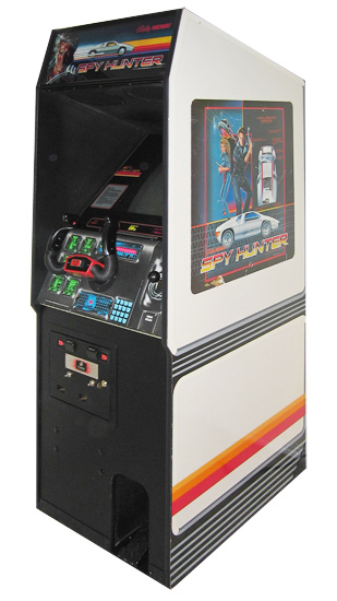 Spy Hunter - Classics Arcade Game from Video Amusement