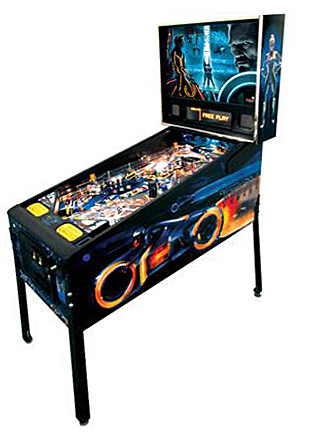 The TRON: Legacy pinball - Latest Pinball Collection