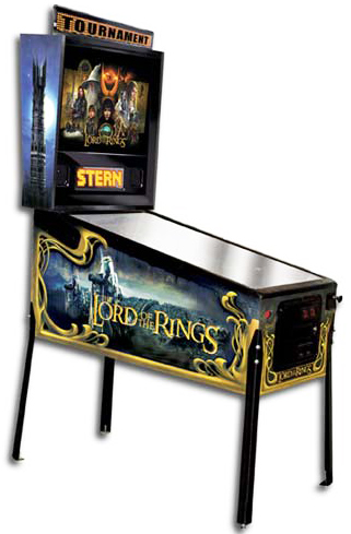 The Lord of the Rings - Latest Pinball Collection