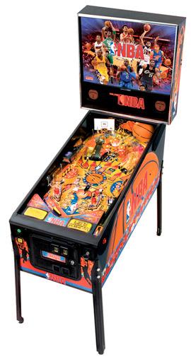 """NBA pinball - """"atest Pinball Collection"""