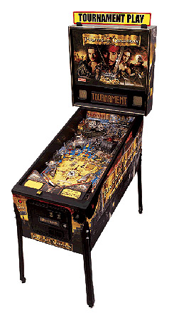 Pinball Game - Pirates of the Caribbean - Latest Pinball Collection