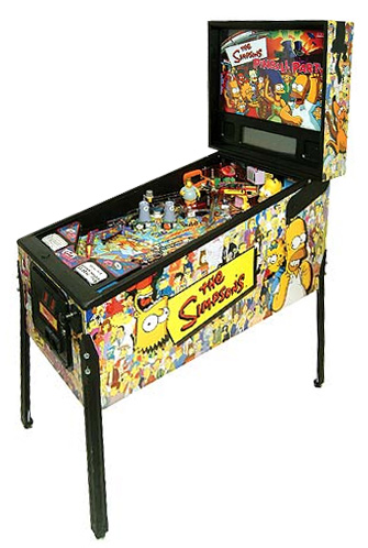 The Simpson Pinball Party - Latest Pinball Collection