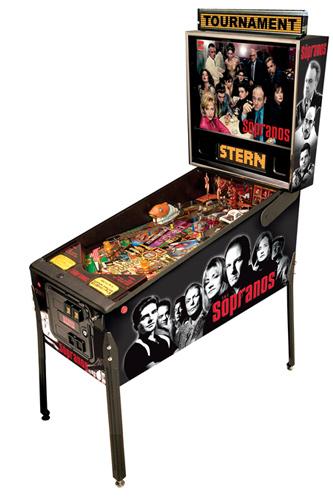 The Sopranos Pinball - Latest Pinball Collection