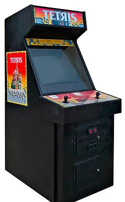 Tetris Arcade Games Rental - Video Amusement San Francisco ...