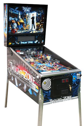 Twilight Zone pinball - Classic Pinball Collection