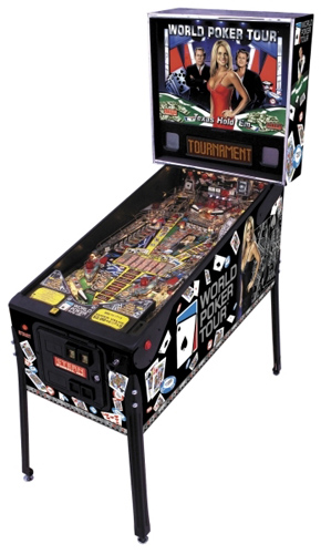 World Poker Tour Pinball - Latest Pinball Collection