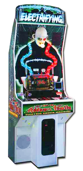 Addams Family Electric Shock Machine - Carnival Games available for rent from Video Amusement
