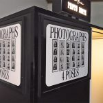 B&W Classic Photo Booth Sign detail