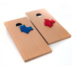 Cornhole/ Bean Bag Toss - Carnival Games here are clean finished look boards.