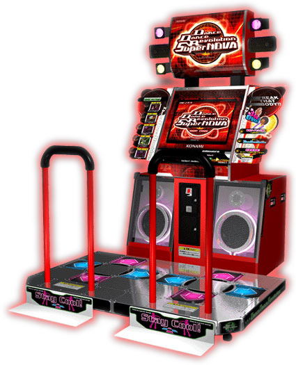 Dance Dance Revolution Supernova - Music - Dance and Music Games available for rent from Video Amusement