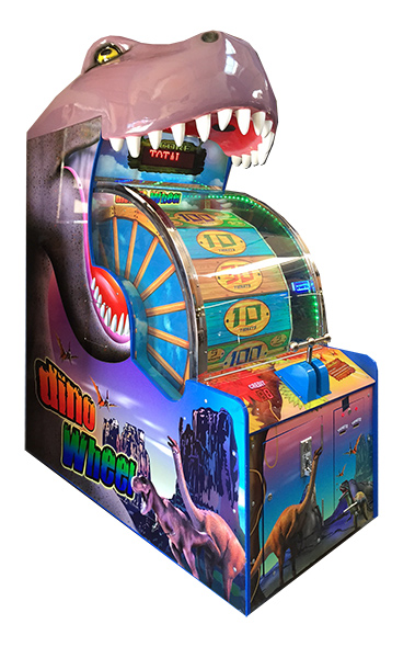 Dino Wheel - Carnival Game from Video Amusement is available for rent