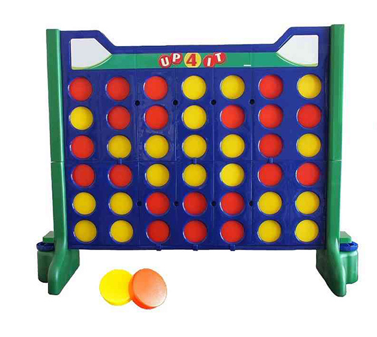 Giant Connect 4 - Carnival Outdoor Game available for rent from Video Amusement