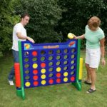 Giant Connect Four - Carnival Outdoor Game