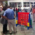 Giant Connect Four 2 - Carnival Outdoor Game