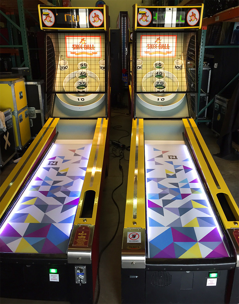 Games For 3 Year Olds: Skeeball (Skee Ball) Carnival Game Rental