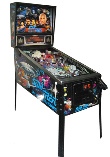 Star Trek: The Next Generation pinball - Classic Pinball Collection