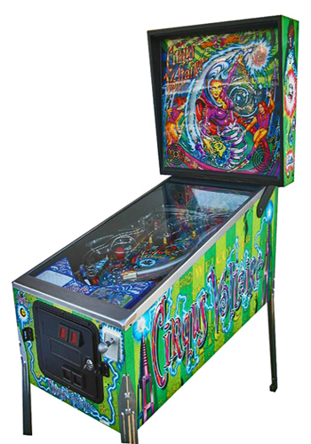 Cirqus Voltaire pinball - Classic Pinball Collection
