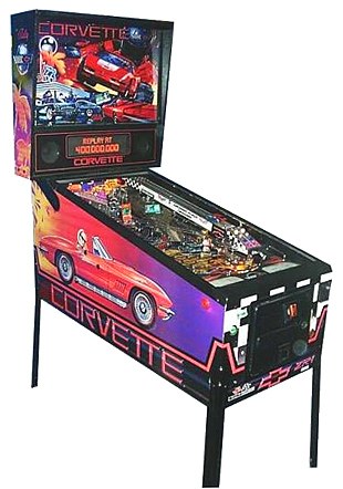Corvette Pinball - Classic Pinball Collection