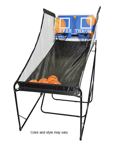 Portable basketball game for rent