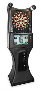 Electronic darts - sport game is available for rent from Video Amusement