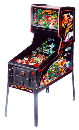 Revenge from Mars pinball - Classic Pinball Collection