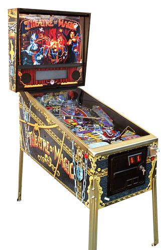 Theatre of Magic pinball - Classic Pinball Collection