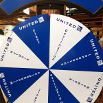 Prize Wheel customize for a airport terminal ceremony