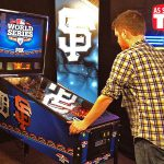 World Series custom graphics pinball
