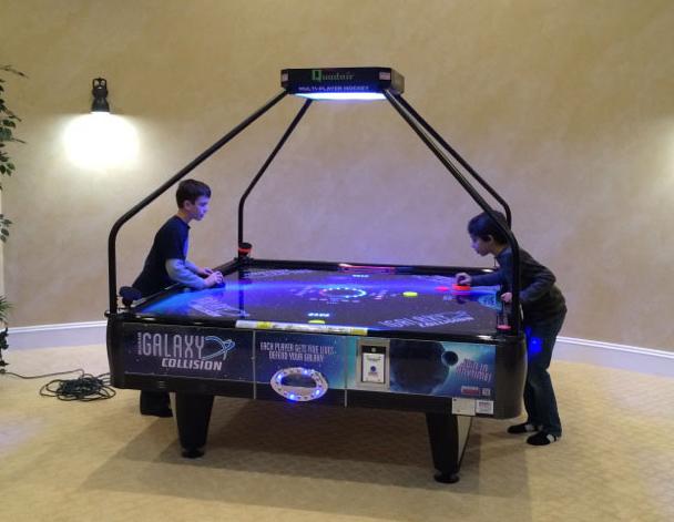 Galaxy Quad Four Way Air Hockey Table Arcade Games