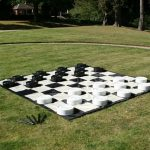 Giant Checkers 3 - outdoor games