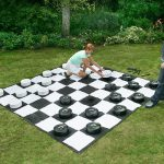 Giant Checkers 4 - outdoor games
