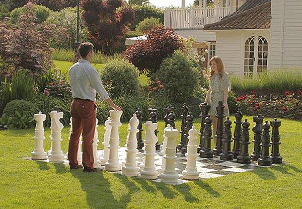Giant Mega Chess - outdoor games from Video Amusement available for rent