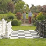Giant Mega Chess 3 - outdoor games