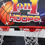 1 on 1 double two hoop basketball game