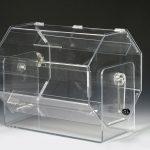 Large acrylic table model raffle drum