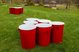 Beer Pong on steroids. Giant beer pong available for your next eveny.
