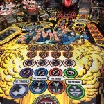 KIss PRO pinball game playfield