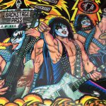 Kiss PRO detailed image of the play field center artwork