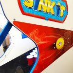 Detail of SinkIt arcade game