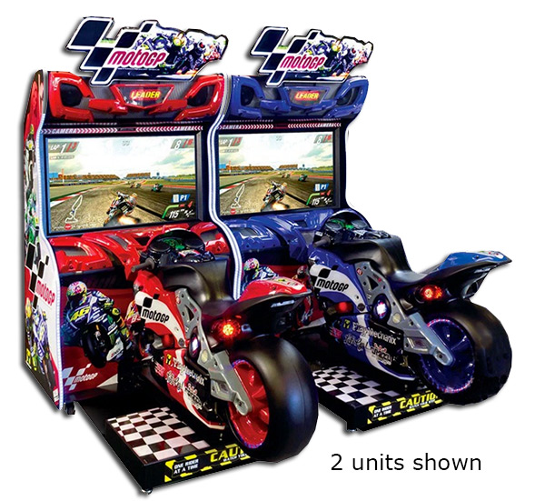MotoGP Motorcycle Racing - Arcade games, Racing simulators, Photo booths, Pinball Game Rental