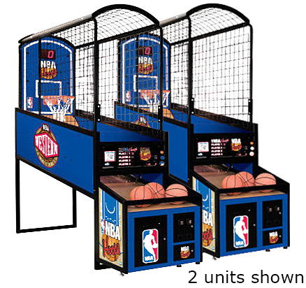 NBA Hoops basketball game available from Video Amusement