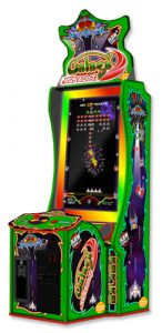 New from Namco Galaga Assault arcade game