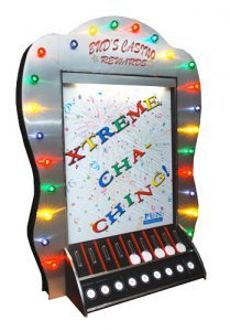 Giant Plinko game available for rent from Video Amusement